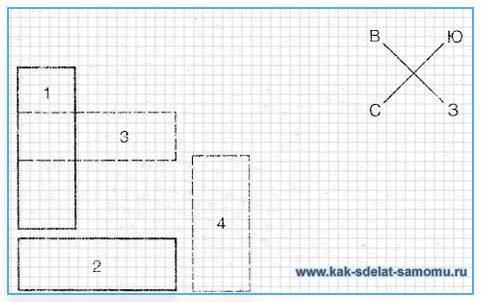 Как правильно расположить теплицу на участке по сторонам света схема