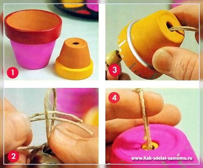 Как сделать колокольчики своими руками фото